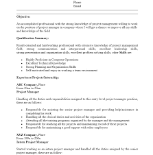 Project Manager Resume Tell The Company Or Organization 10 Entry Level Project Management Resume Sle 0 Sles Template