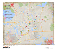 Map Of Orlando Why Orlando Would Be An Awesome Location For A Walking Dead Spin