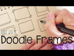 doodle with draw frame doodles for your planner bullet journal doodle with