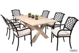 florence lincoln 7pc dining set outdoor dining set get outside