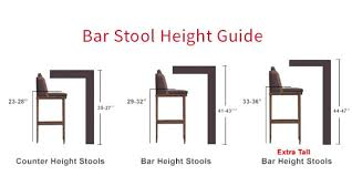 miraculous kitchen island stool height for house design