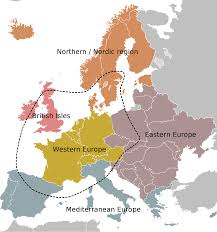 Western Europe Map by Atlas Of Europe Wikimedia Commons