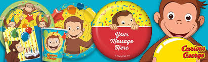 Curious George Party Supplies & Decorations