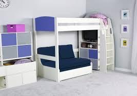 Bunk Bed With Sofa Bed Underneath High Sleeper Double Sofa Bed Centerfieldbar Com