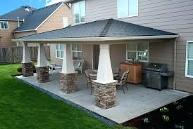 Covered Backyard Patio Ideas Patio Ideas For Backyard On A Budget Home Design