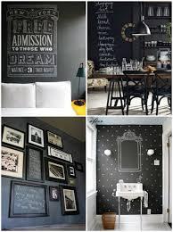 ardoise cuisine deco mur ardoise cuisine le blackboard devient chalkboard peinture black