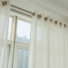 Custom Linen Curtains Stylish Striped Linen Custom Made Sheer Curtains Buy Multi Color