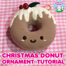 diy kawaii donut ornament kawaii