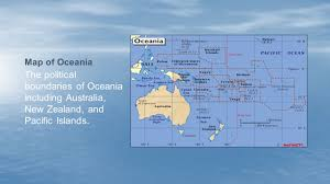 New Zealand And Australia Map Introduction To Australia New Zealand And Oceania Ppt Video