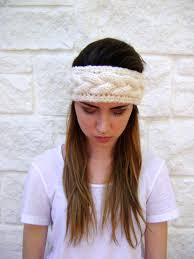 knitted headband pattern cable knit headband pattern instant