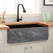 black stone bathroom sink black stone sink signature hardware