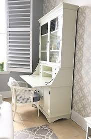 Pottery Barn Dawson Desk Pottery Barn Graham Secretary Desk With Hutch Large White Pick Up