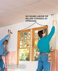 how to hang drywall like a pro u2014 the family handyman