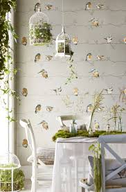 Wallpapers Designs For Home Interiors by Best 10 Bird Wallpaper Ideas On Pinterest Chinoiserie Fabric