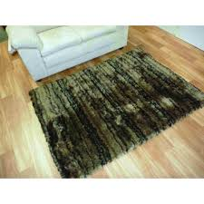 Olive Green Shag Rug Shag Rugs Thin Polyester Stripes Olive Shaggy Rugs Free Shipping