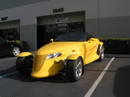 chrysler prowler supercharged plymouth prowler