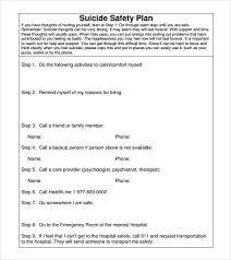safety plan template peerpex