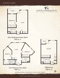 New Orleans Floor Plans New Orleans Louisiana Retirement Independent Living Community