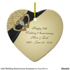 wedding anniversary ornaments 50th wedding anniversary ornament 50th anniversary idea
