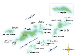 map of the bvi escape bvi islands map