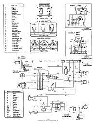 Wiring Diagram For Suburban Troy Bilt 13066 16hp Hydro Suburban Tractor S N 130660100101
