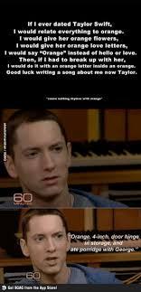 Eminem Rap God Meme - because i hate taylor swift too but i like eminem eminem