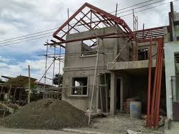 small house construction the grove subdivision house construction project in mandurriao
