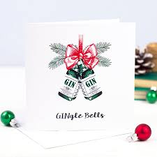picture christmas cards gingle bells gin christmas card by of lemons