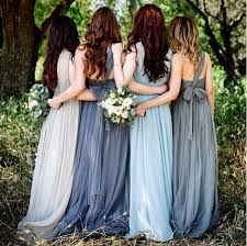 slate blue bridesmaid dresses best 25 blue bridesmaid dresses ideas on blue