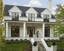 Colonial Windows Designs Colonial With Dimension Stone Framed Windows Balcony Above