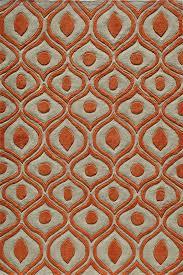 Modern Orange Rug Flooring A Cool Floor With Momeni Rugs Ideas
