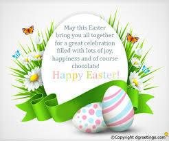 happy easter cards easter card messages modern design white background unique easter egg with dots and linear motif egg shaped text area with floral decoration and wish jpg