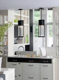 glass minimalist contemporary pendant lights for kitchen island