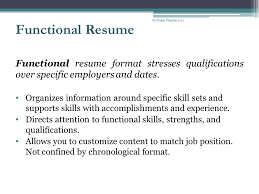 Chronological And Functional Resume Resume Writing Presenters Judy Taylor Professional Counselor