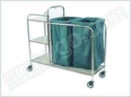 Medical Laundry Hamper by Alh 7 Linen Changing Cart Mahika Medical Pvt Ltd