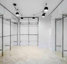 polished modern closet forte interiors design build