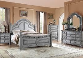 verona grey 5 pc queen bedroom badcock home furniture u0026 more of