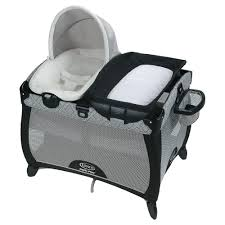 portable diaper changing table graco quick connect portable napper asher baby essentials
