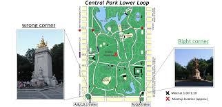 Map Central Park Go In Central Park Ny Mostly Go Club New York Ny Meetup