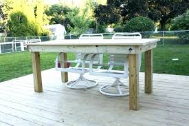 how to build a patio table build patio furniture crafty build your own patio furniture more