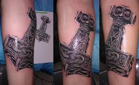 thor u0027s hammer bl design tattoo studio flickr