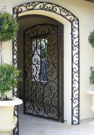 ornamental iron entry doors orange county ca custom wrought