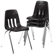 Classroom Stacking Chairs Amazon Com Virco 90879c59 Series 9000 Plastic Stack Chair Black