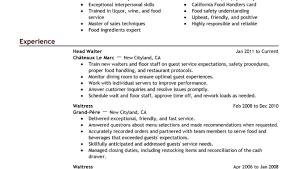Waitress Responsibilities Resume Samples by Resume Templates Samples Resume Template Professional Gray