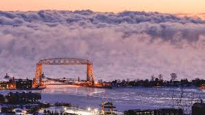 Lake Superior Sea Smoke | duluth photographer s dramatic shot of lake superior sea smoke