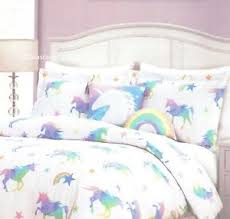 Unicorn Bed Set 4 Pc I Unicorns Comforter Set Rainbow Pastel