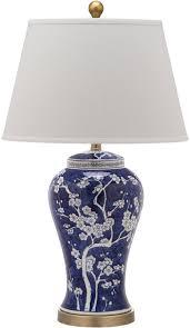 Blue Table Lamp Lit4170c Set2 Table Lamps Lighting By Safavieh