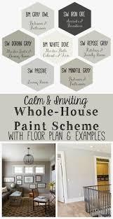 new england farmhouse neutral paint color scheme edgecomb gray