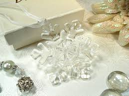 ornament favors murano design snowflake ornament 3 38