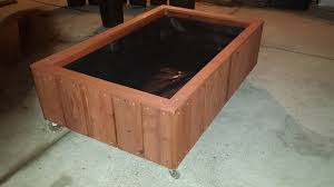 Redwood Planter Boxes by September 2015 Curtis Custom Planters